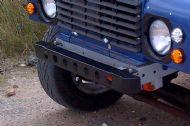 Short holed bumper